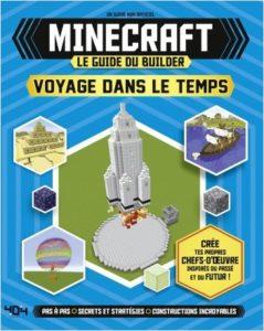 Minecraft – Le guide du builder – Voyage dans le temps (couverture)