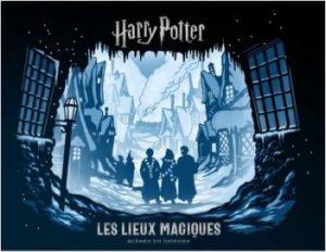 Harry Potter - Les lieux magiques (couverture)
