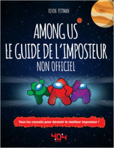 couverture Among Us, le guide de l'imposteur